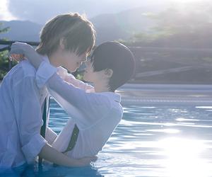 free!, yaoi, and makoharu image
