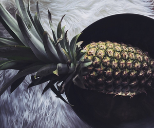 fruit, pineapple, and white image