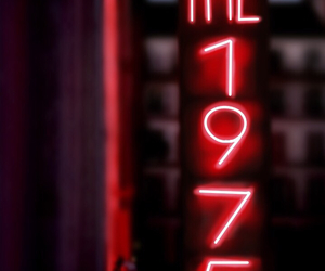 the 1975, light, and neon image