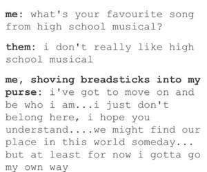 date, funny, and HSM image