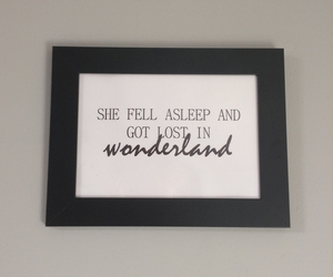 alice in wonderland, dreams, and inspiration image