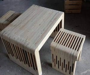 pallets creations, pallets wood creations, and pallets furniture image