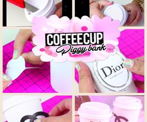 diy, coffee diy, and unusual coffee cup image