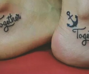 tattoo, together, and tattoo sister image