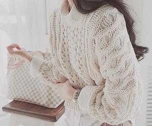 kfashion, girl, and sweater image
