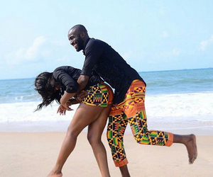 African, love, and beach image