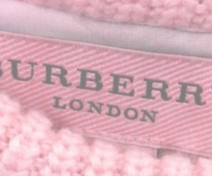 pink and Burberry image