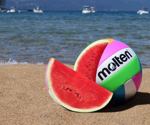 food, summer, and love image