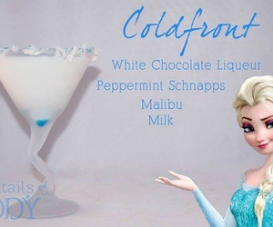 cocktail, disney, and drink image