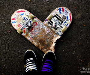 skate and love image