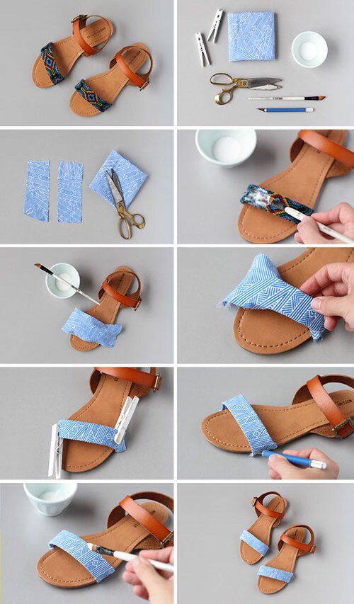 diy, shoes, and sandals image