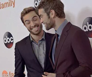 Chace Crawford, chuck bass, and brotp image