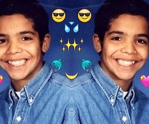 Drake, emoji, and aubrey graham image