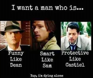 supernatural, castiel, and spn image