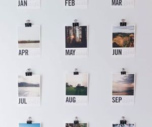 month, calendar, and photo image