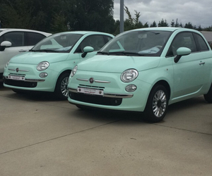 500, fiat, and green image