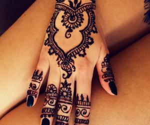 beautiful, henna, and inspo image