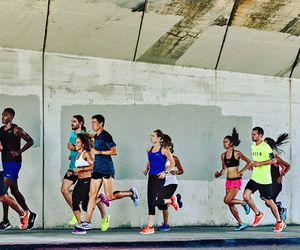 nike, running, and passion image