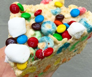 cereal, delicious, and marshmallows image
