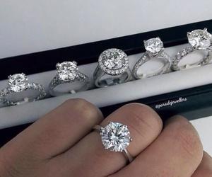 luxury, diamond, and rings image