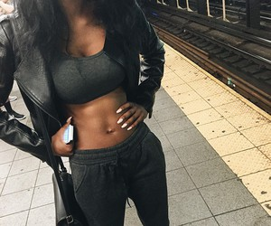 girl, abs, and body image