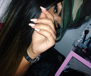 girl, dope, and nails image