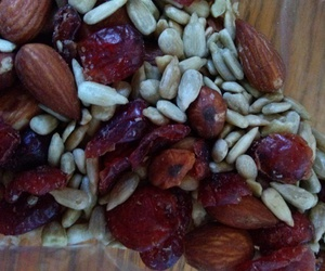 almonds, cranberries, and healthy image