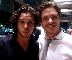 game of thrones, richard madden, and kit harington image