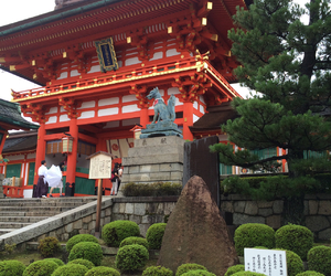 Buddhist, Temple, and japan image