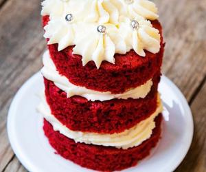 black and white, cake, and cupcake image