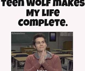 teen wolf, dylan o'brien, and amen image