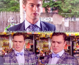 Chace Crawford, ed westwick, and chuck bass image