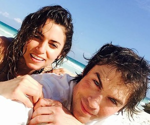 ian somerhalder, nikki reed, and love image