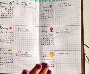 organization, bullet journal, and motivation image
