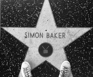 hollywood, simon baker, and Walk of Fame image