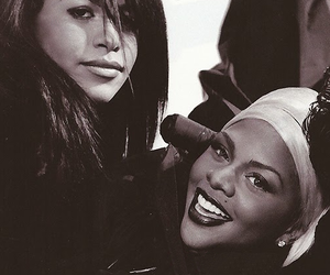 aaliyah, black woman, and singer image