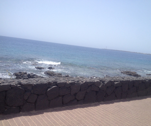 beach, canary islands, and lanzarote image