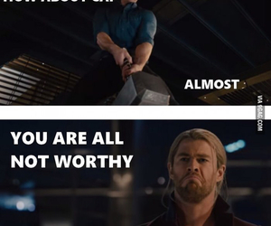 funny, supernatural, and thor image