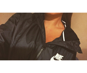 fashion, jacket, and nike image