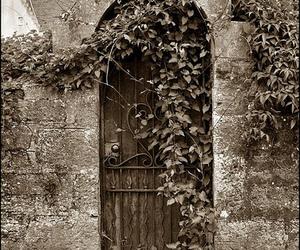 door, scotland, and garden image