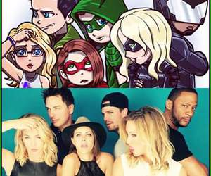 arrow, Felicity, and oliverqueen image