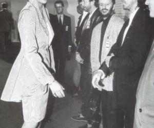 princess diana, george harrison, and ringo starr image