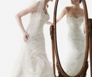 dress, wedding dress, and gorgeous image