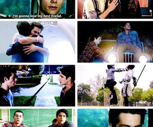 scott, stiles, and season 5 image