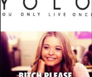 pretty little liars and yolo image