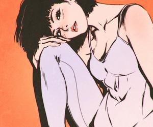 art, girl, and ilya kuvshinov image