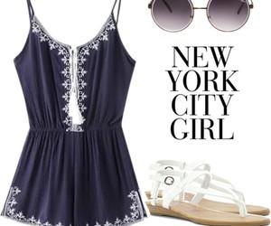 blue, city, and fashion image