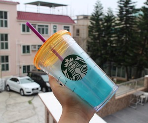 outdoor, starbucks, and quality tumblr image