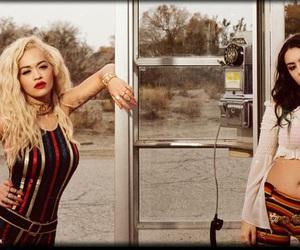 rita ora, charli xcx, and fashion image
