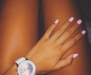 nails, style, and summer image